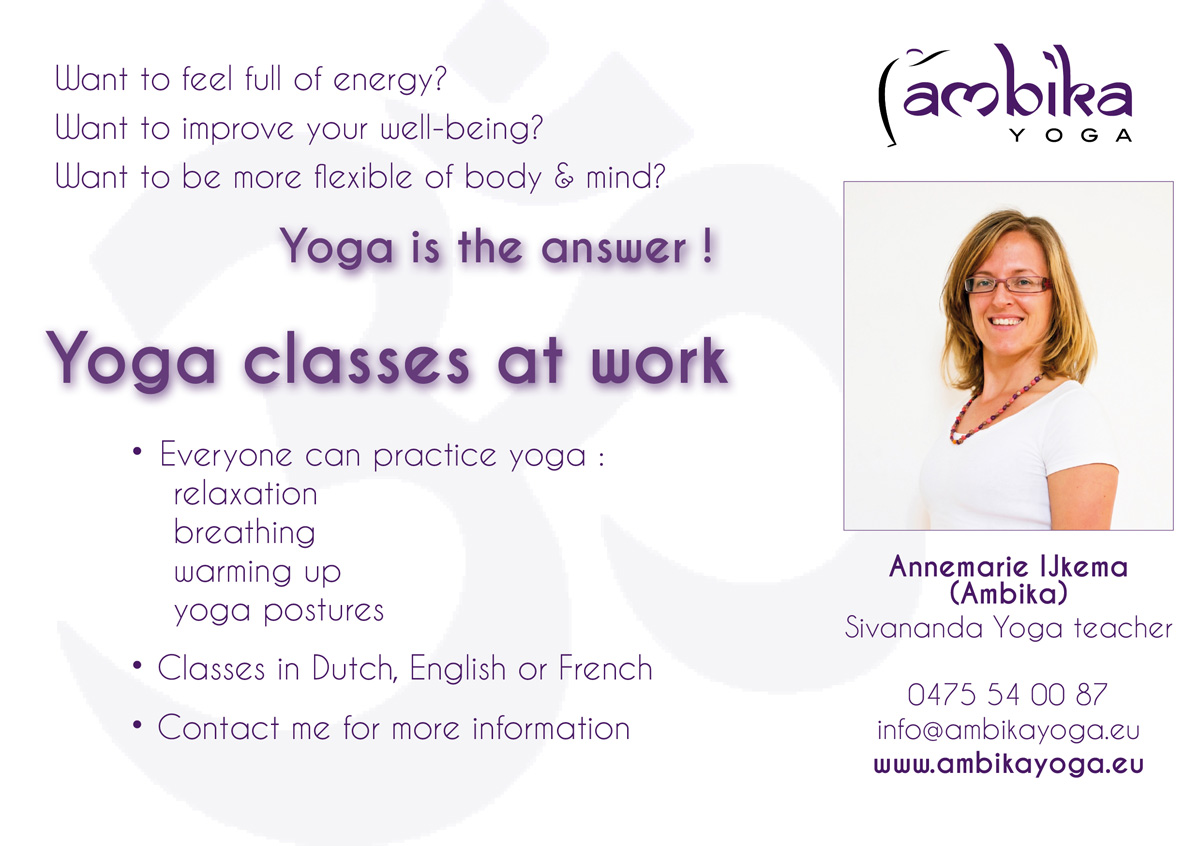 Yoga At Your Workplace