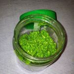 raw vegan kale pesto