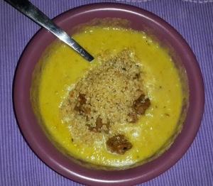 Soup quinoa