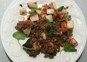 Lentils and roasted veggies 20170307_201008
